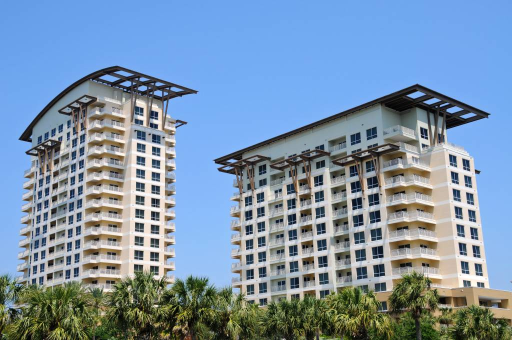 Multi Family High rise Condos on the Florida Coast