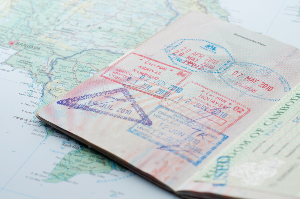 A Passport used to cross into a country legally, thereby preserving one's status among their peers while also circumventing the need to fear police and neighbors.
